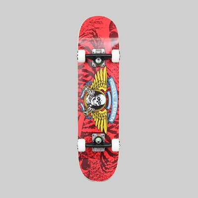 POWELL PERALTA COMPLETE WINGED RIPPER RED 7