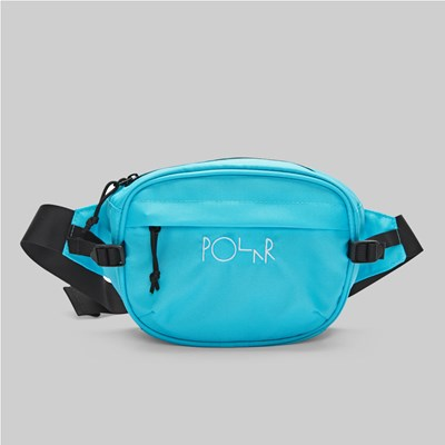 POLAR SKATE CO. CORDURA HIP BAG AQUA