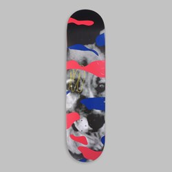 QUASI CROCKETT MAXDOG DECK RED 8""