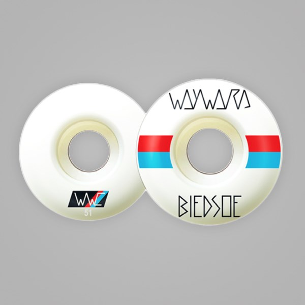WAYWARD WHEELS 'RACE STRIPES' BLEDSOE 51MM