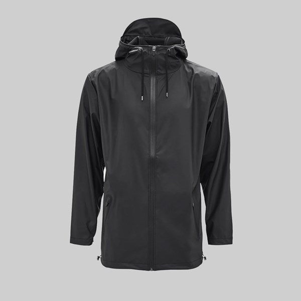 RAINS BREAKER JACKET BLACK