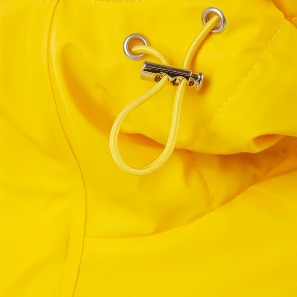 RAINS QUILTED PARKER JACKET YELLOW