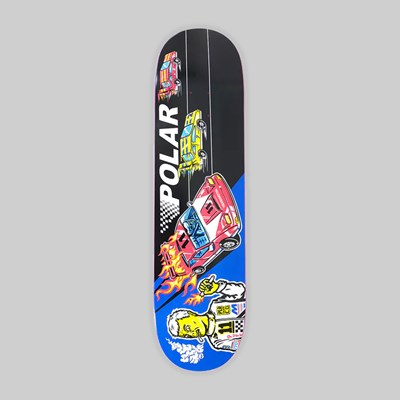 POLAR SKATE CO. HERRINGTON 'REPTILIAN RACER' DECK 8.5""