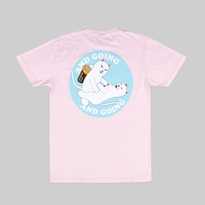 RIP N DIP CHARGED UP SS TEE PINK