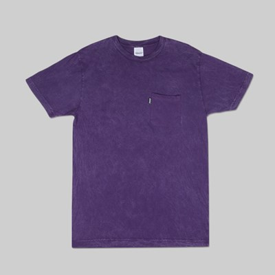 RIP N DIP WORLD ON FIRE SS TEE PURPLE MINERAL WASH