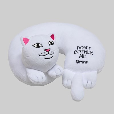 RIP N DIP DONT BOTHER ME TRAVEL PILLOW WHITE