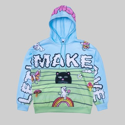 RIP N DIP LET'S MAKE LOVE HOODIE MULTI
