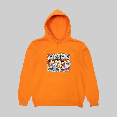 RIP N DIP LOONEY GANG HOODIE ORANGE