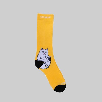RIP N DIP LORD NERMAL SOCKS GOLD