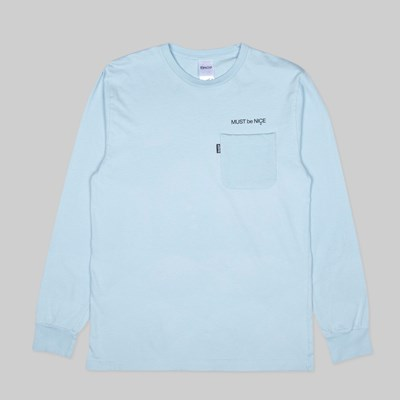 RIP N DIP MOTHER LONG SLEEVE TEE BABY BLUE