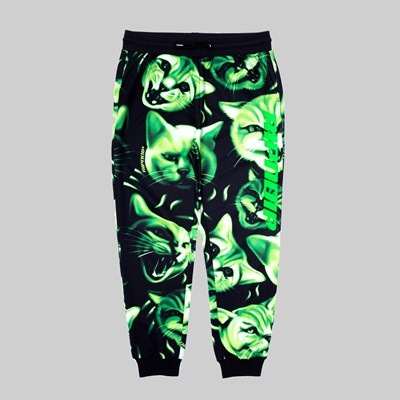 RIP N DIP NEON NERM SWEAT PANTS BLACK