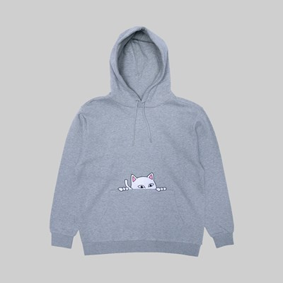 RIP N DIP PEEKING NERMAL HOODIE HEATHER GREY