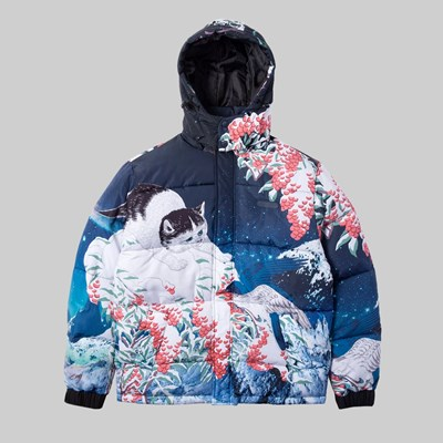 RIP N DIP SNOW BIRD PUFFER JACKET MULTI