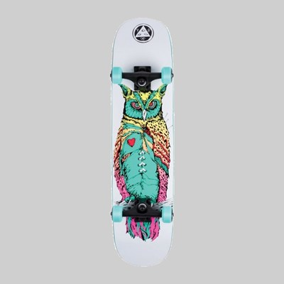 "WELCOME SKATEBOARDS HEARTWISE ON AMULET 7.75"" COMPLETE"