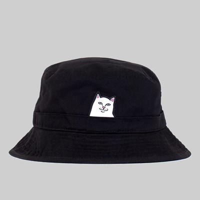 RIP N DIP LORD NERMAL BUCKET HAT BLACK