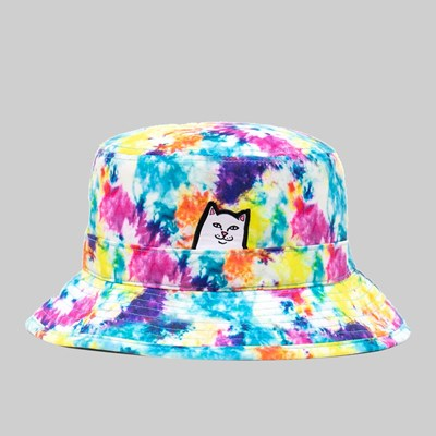 RIP N DIP LORD NERMAL BUCKET HAT TIE DYE