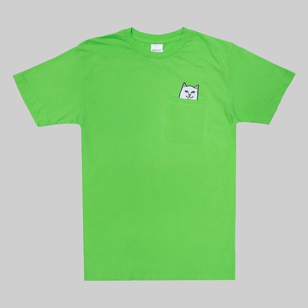 RIP N DIP LORD NERMAL POCKET SS T-SHIRT LIME