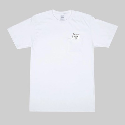 RIP N DIP LORD NERMAL POCKET SS T-SHIRT WHITE