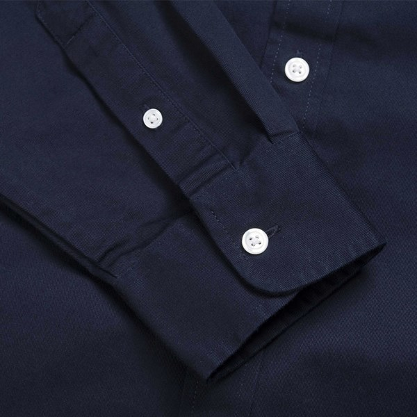 CARHARTT WIP MADISON CORD LS SHIRT NAVY
