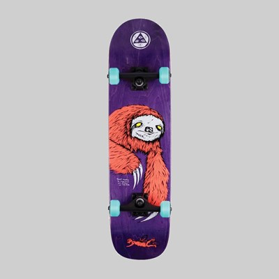 "WELCOME SKATEBOARDS SLOTH ON BUNYIP 8.0"" COMPLETE"