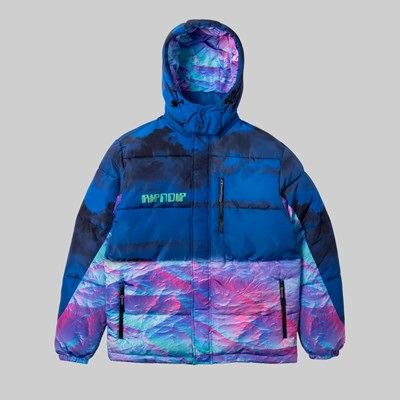 RIP N DIP THERMAL NERMAL PUFFER JACKET BLUE