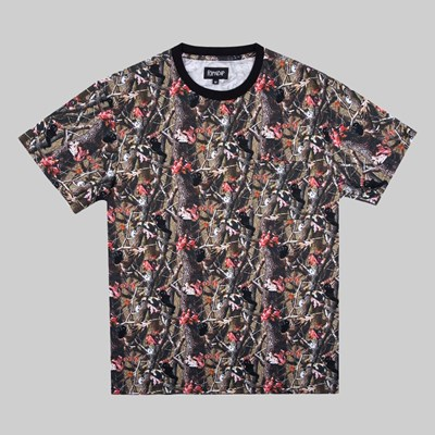 RIP N DIP TREE CAMO POCKET SS T-SHIRT MULTI