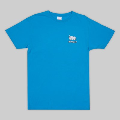 RIP N DIP TWO NERMALS SS T-SHIRT LIGHT BLUE