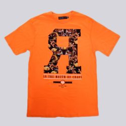 Rook Amazon R T Shirt Orange