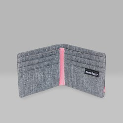 HERSCHEL ROY WALLET RAVEN CROSSHATCH