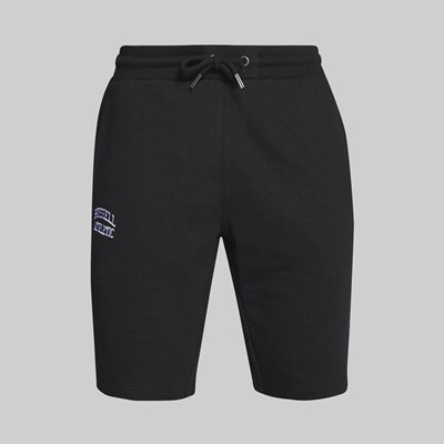 RUSSELL ATHLETIC EAGLE R CLASSIC SWEAT SHORT BLACK