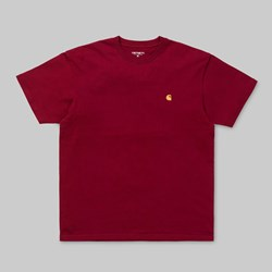 CARHARTT CHASE SS T-SHIRT MULBERRY