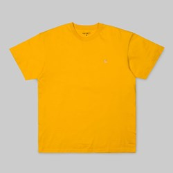CARHARTT CHASE SS T-SHIRT QUINCE GOLD