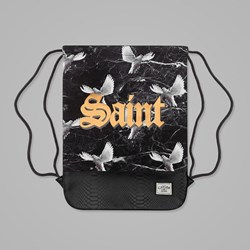 Cayler & Sons Saint Gym Bag Black-White