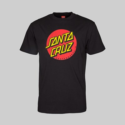 SANTA CRUZ OS CLASSIC DOT SS T-SHIRT BLACK