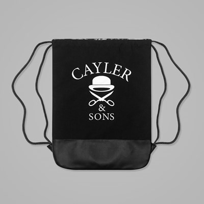 Cayler & Sons Savior Gym Bag Black-White