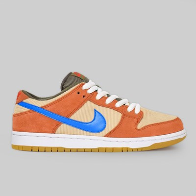 NIKE SB 'CORD' DUNK LOW PRO DUSTY PEACH PHOTO BLUE