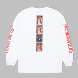 THE HUNDREDS X FRIDAY THE 13TH SCREAM LS TEE WHITE