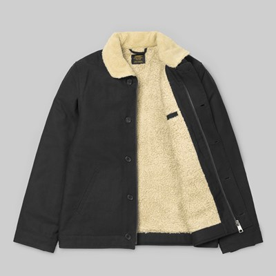 CARHARTT SHEFFIELD JACKET BLACK