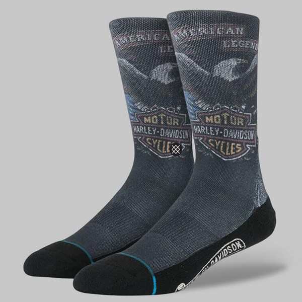 STANCE SHOVEL HEAD SOCKS BLACK