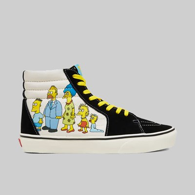 VANS X SIMPSONS SK8-HI 87 - 2020 OFF WHITE