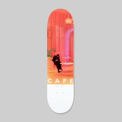 SKATEBOARD CAFE UNEXPECTED BEAUTY DECK PINK 8.00