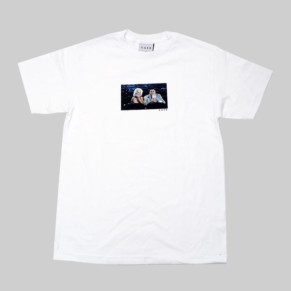 SKATEBOARD CAFE CINEMA SS T-SHIRT WHITE