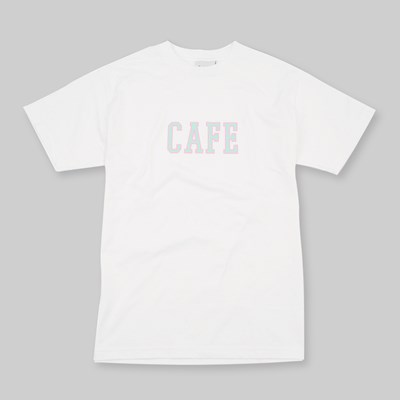 SKATEBOARD CAFE COLLAGE SS T-SHIRT WHITE