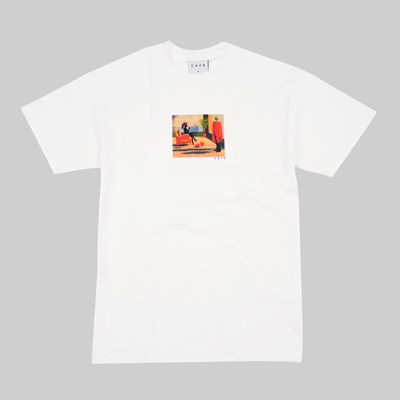 SKATEBOARD CAFE DAWN SS T-SHIRT WHITE