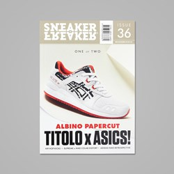 SNEAKER FREAKER MAGAZINE ISSUE 36