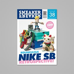 SNEAKER FREAKER MAGAZINE ISSUE 38