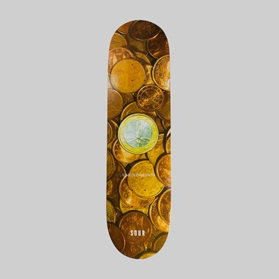 SOUR SOLUTION SIMON 'COINS CRUISER' DECK 8.25""