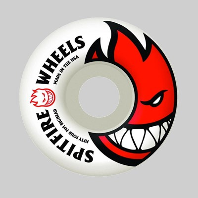 SPITFIRE WHEELS BIGHEAD WHITE 52MM