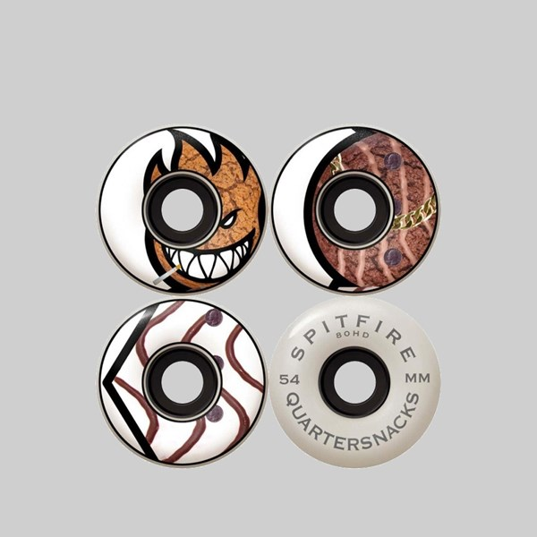 SPITFIRE X QUARTERSNACKS SOFT WHEELS 80HD 54MM