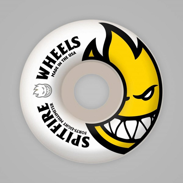 SPITFIRE WHEELS BIGHEAD WHITE 48MM
